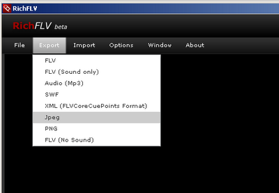 Capture images from Youtube FLV videos as PNG or JPEG