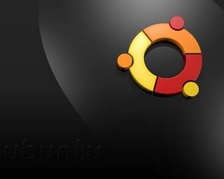 Ubuntu Black wallpaper