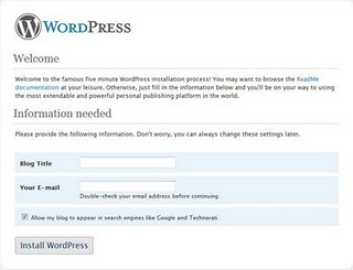 how to find the wordpress password cpanel