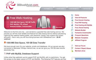 000webhost free wordpress hosting