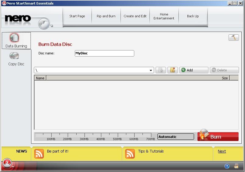 Download nero burnlite v9. 4. 12. 3d (freeware) afterdawn: software.