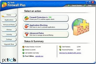 PC Tools free Firewall for Windows