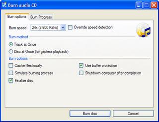 CDBurnerXP  freeware CD DVD burning software for windows