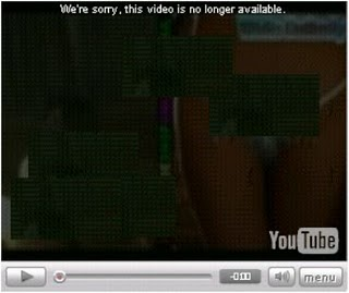youtube deleted video window