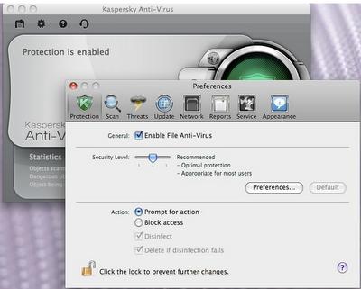 Kaspersky antivirus final for Mac OS