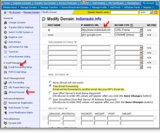 Blogger custom domain using  Namecheap