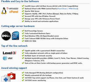 Hostgator VPS hosting features